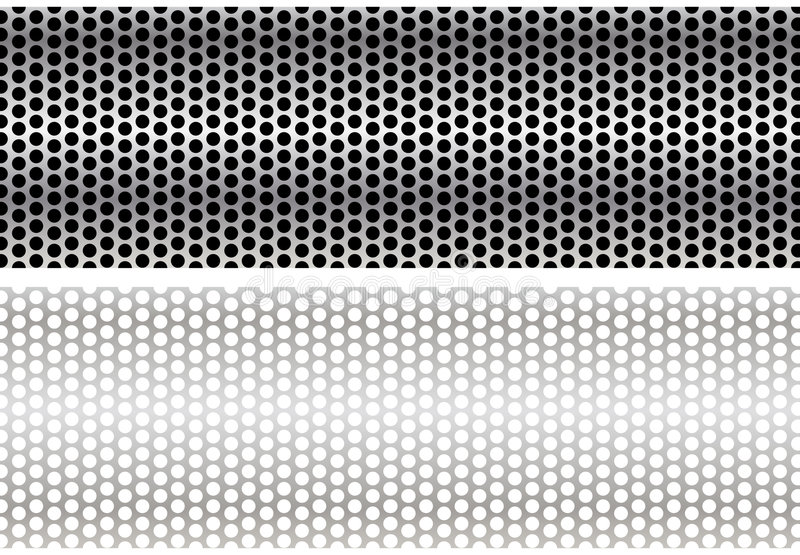 Metalldraht-Ineinander greifen vektor abbildung