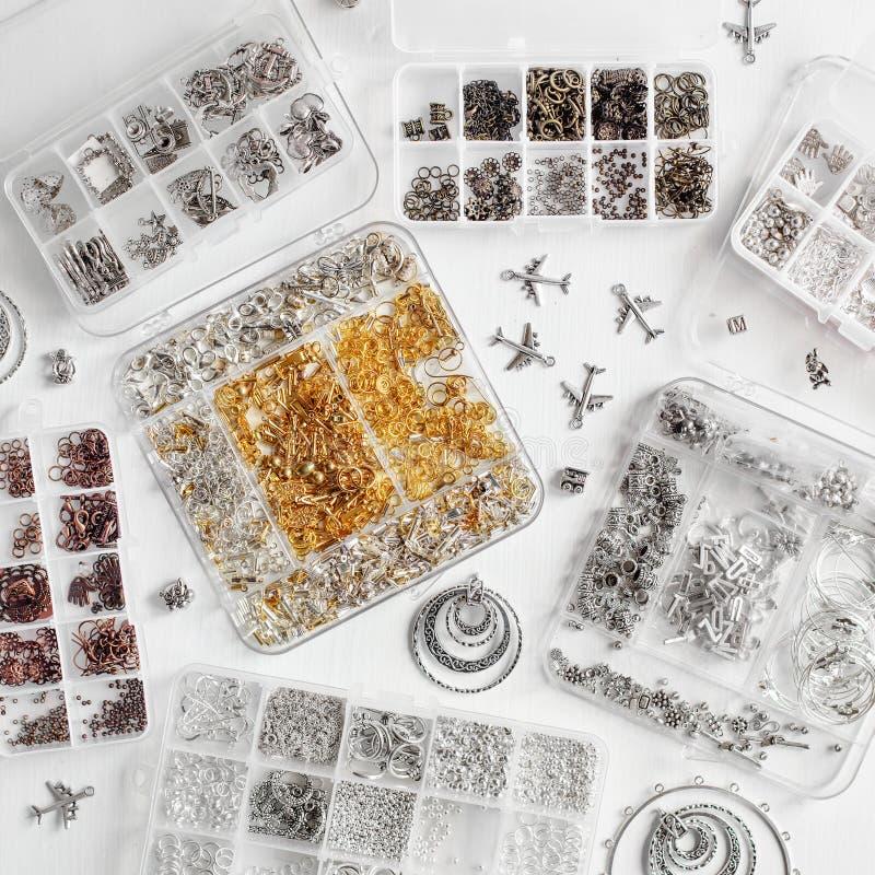 Metalle für Bijoux lizenzfreie stockfotografie
