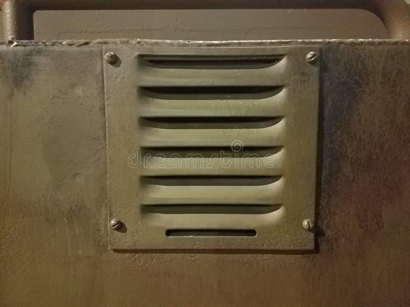 Metallentlüftung lizenzfreie stockbilder