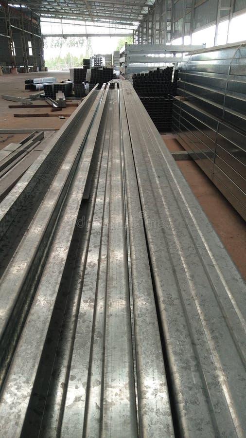 Metallfabriken royaltyfri foto