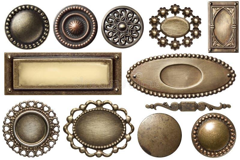 Metallfeld lizenzfreie stockfotografie