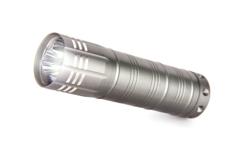 Metallficklampa som isoleras på vit bakgrund royaltyfria foton