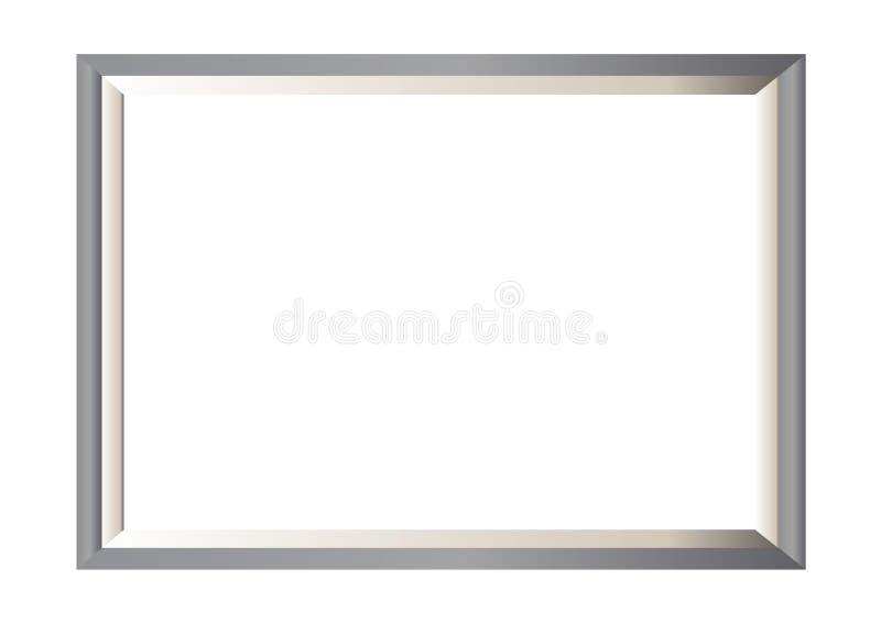 Metallfotofeld Minimal Lizenzfreies Stockfoto