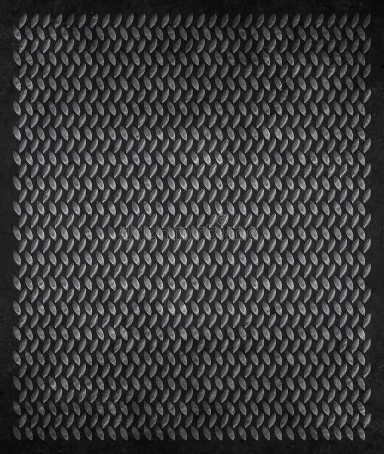 MetallGrunge Hintergrund stockfoto