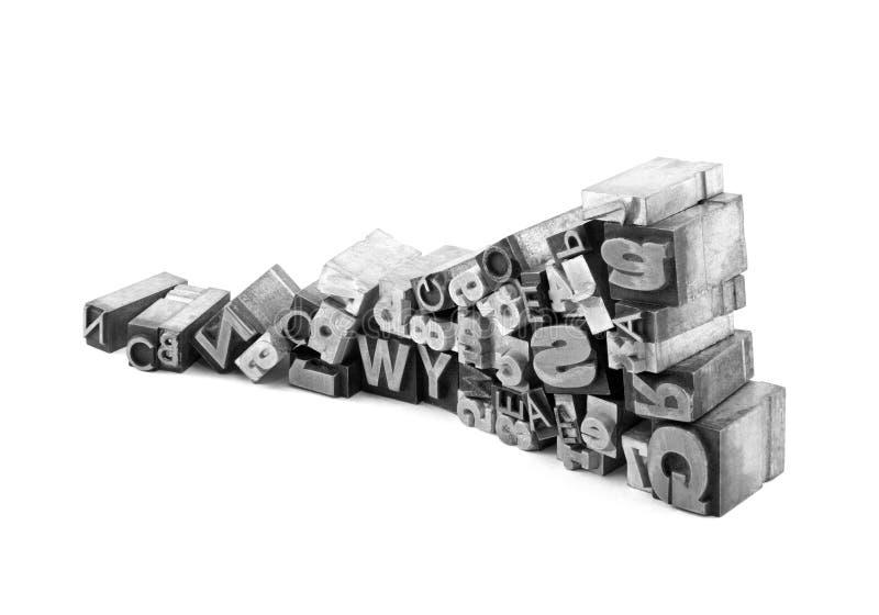 Metallhochdruckblöcke lizenzfreie stockfotos