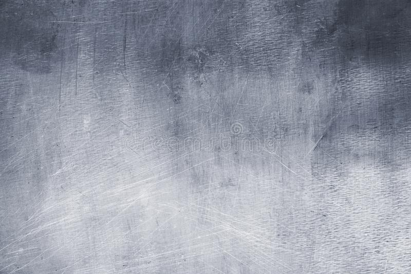 Light gray metal texture, element of iron plate background stock photo