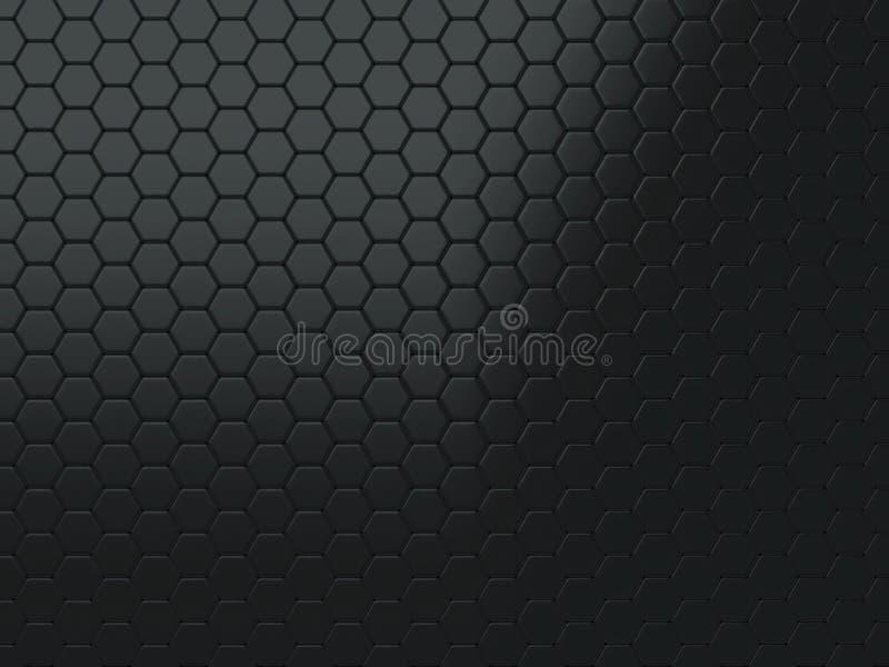 Download Metallic Black Background Stock Illustration Of Concept