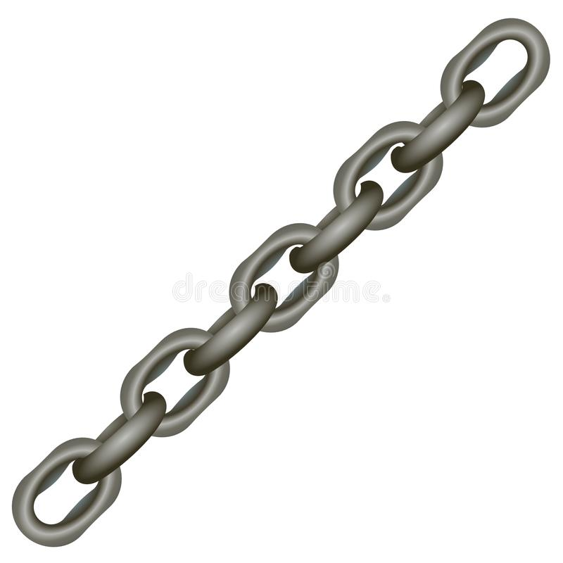 Metallic Chain Royalty Free Stock Images
