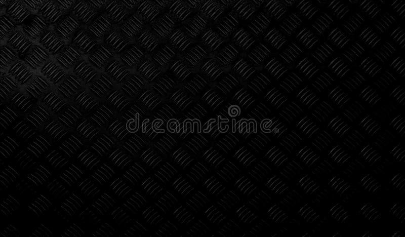 Metallic decorative black background wallpaper. Floor stock photos