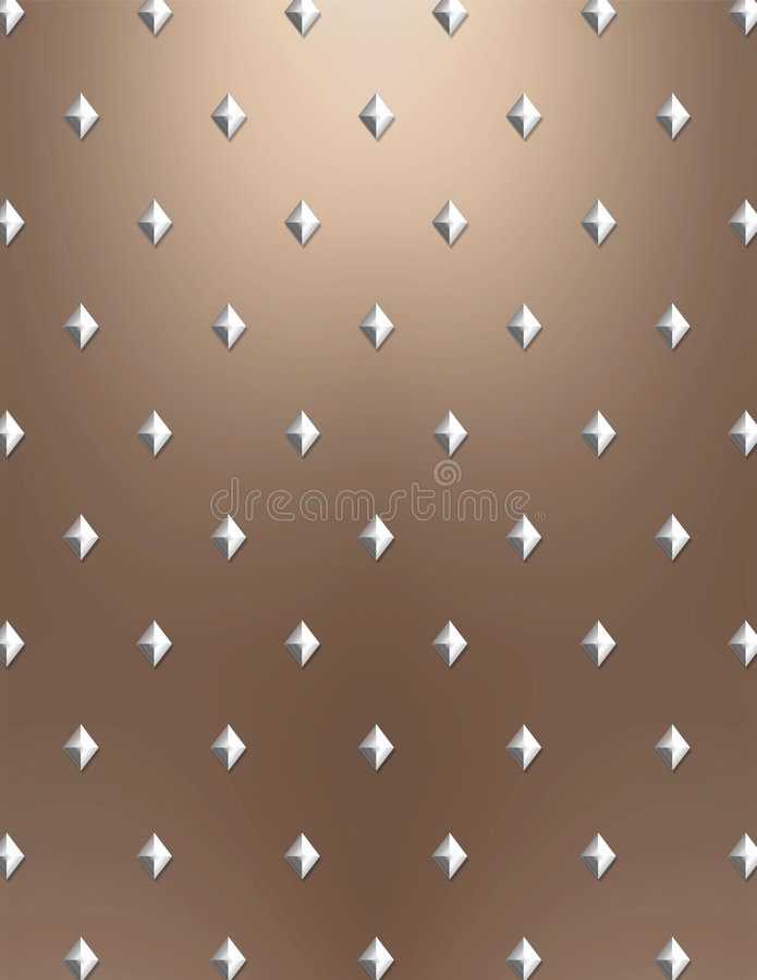 Download Metallic Diamond Background Stock Illustration - Image: 5297697