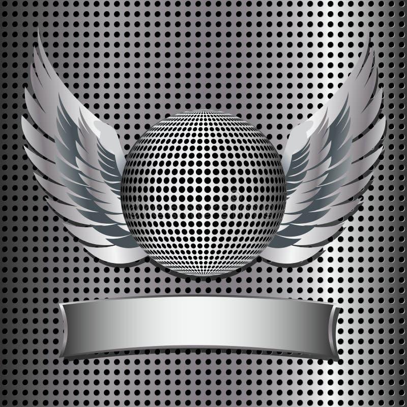 Metallic Disco Ball Grill Royalty Free Stock Photo
