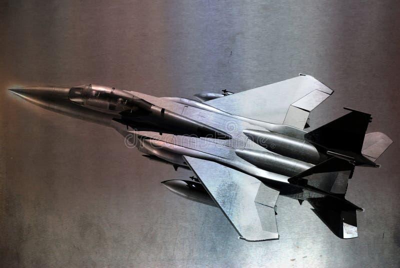 Download Metallic F15 stock illustration. Illustration of stunt - 27886443