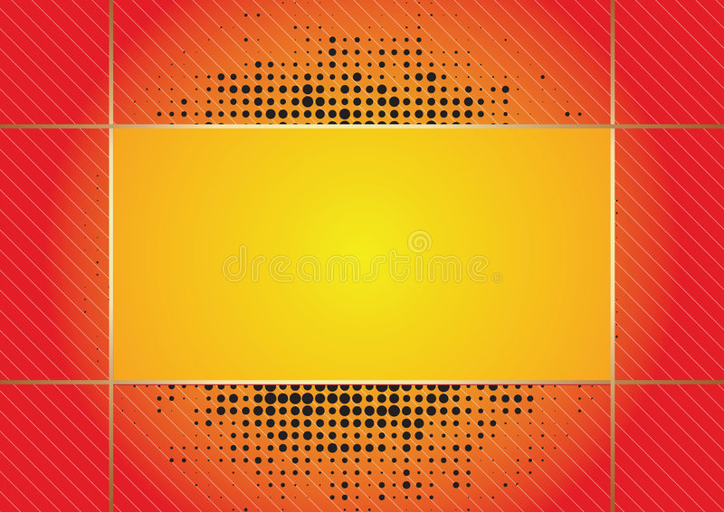 Download Metallic frame stock vector. Illustration of holiday, frame - 7495431