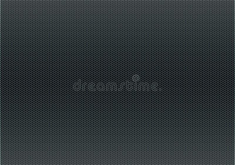 Metallic grid texture royalty free illustration