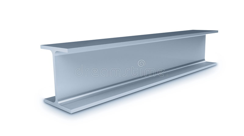 Download Metallic joists stock photo. Image of metal, solid, double - 8285252