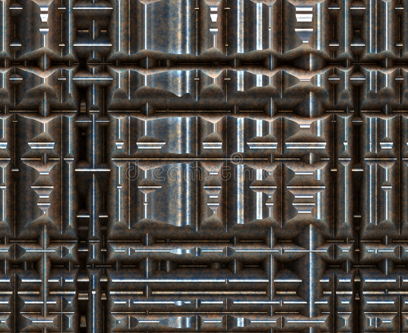 Download Metallic machinery stock illustration. Image of futuristic - 2703153
