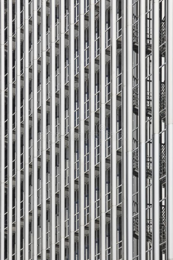 Metallic modern building facade. Contemporary architecture. Urban skyline royalty free stock photography
