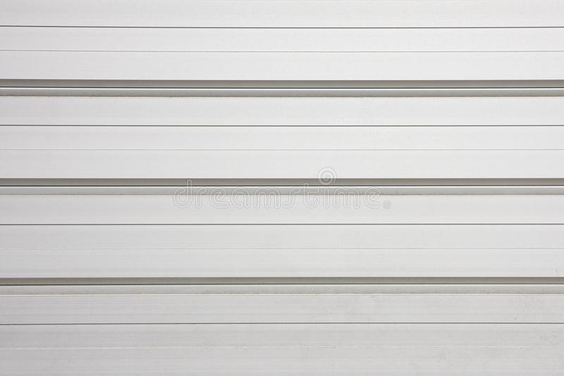 Metallic pattern. Pattern background of metallic shutter or partition stock images