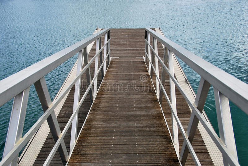 Metallic Pier Stock Photos
