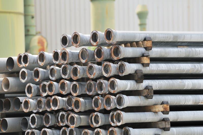 Metallic Pipes Royalty Free Stock Photo