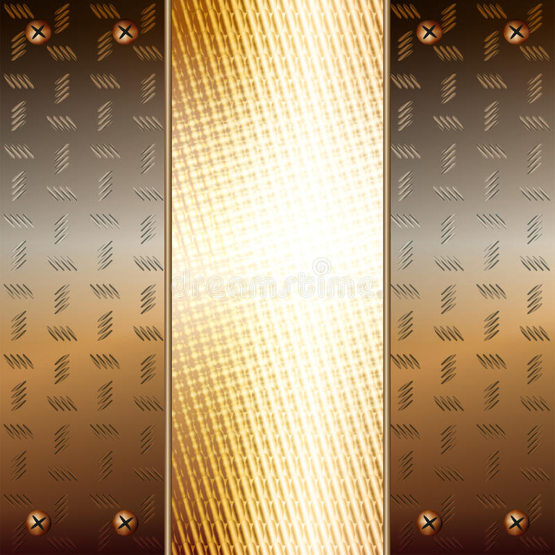Download Metallic Plates And Golden Core Royalty Free Stock Images - Image: 23578629