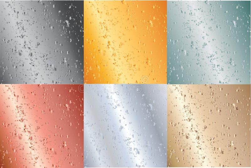 Download Metallic Plates Illustration Stock Vector - Illustration of golden, patch: 16635250