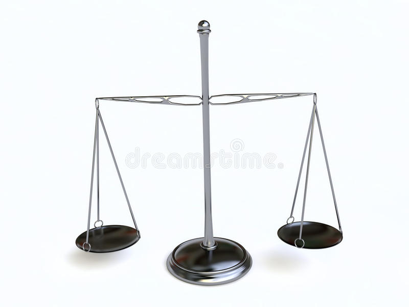 Download Metallic Scale stock illustration. Image of comparison - 17282748