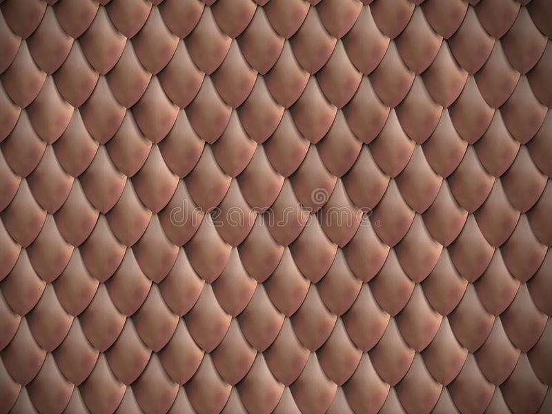 Download Metallic scales background stock image. Image of design - 24073587