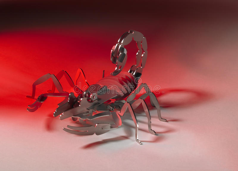 Download Metallic scorpion stock photo. Image of arthropod, inconvenience - 36627264