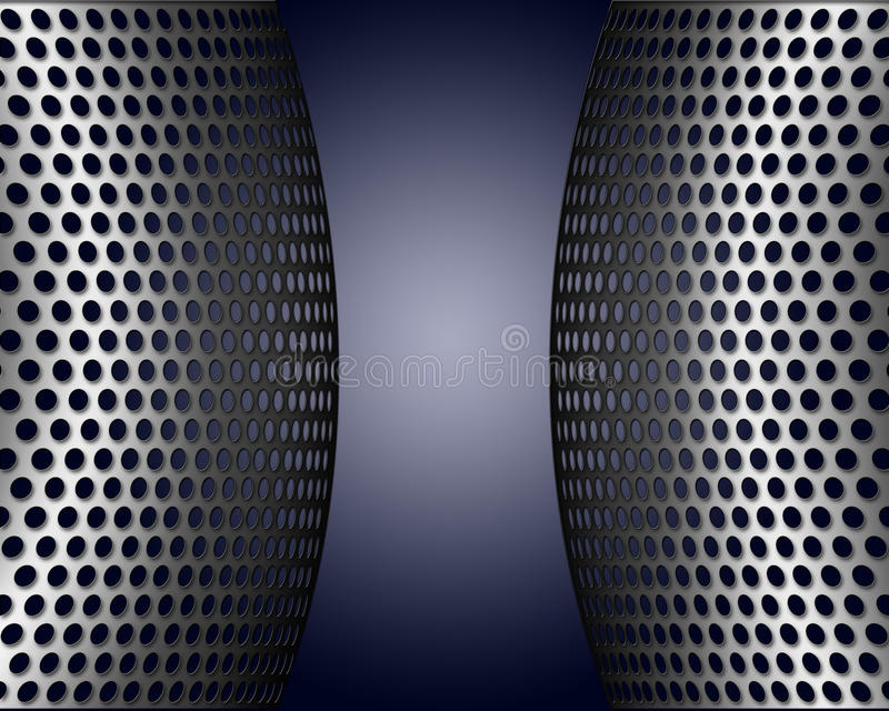Download Metallic Screens With Holes Stock Images - Image: 11442664