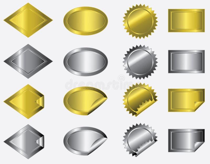 Metallic Stickers