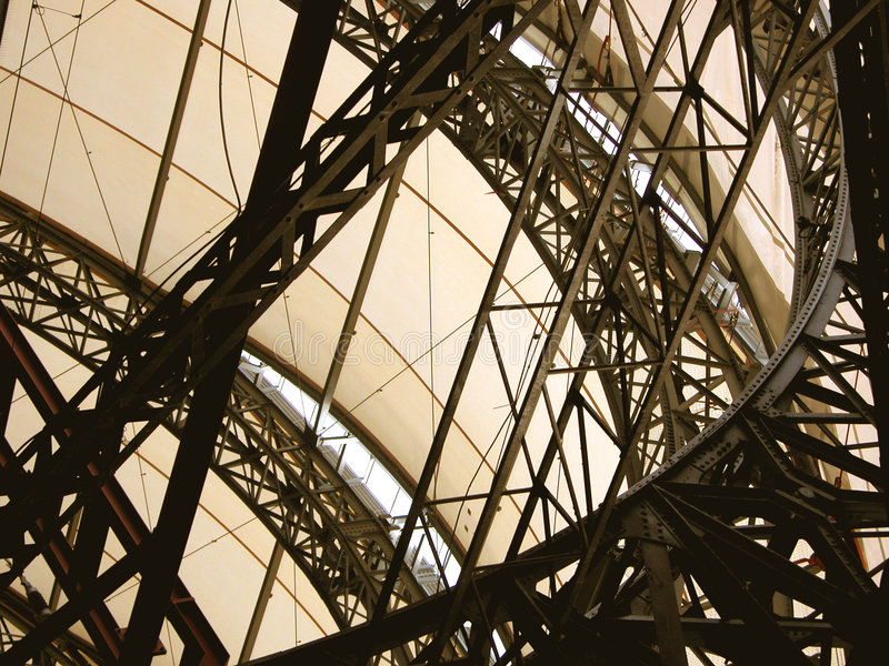 Metallic structure royalty free stock photo