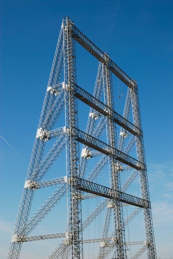 Metallic Structure Royalty Free Stock Image