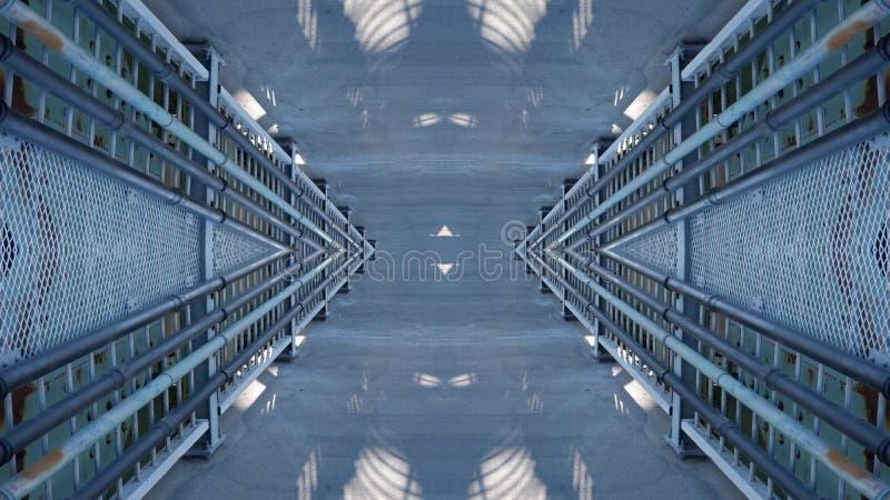 Metallic structure mirror effect design royalty free stock photos
