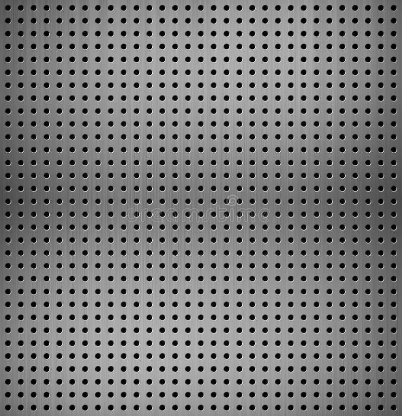 Metallic texture vector illustration