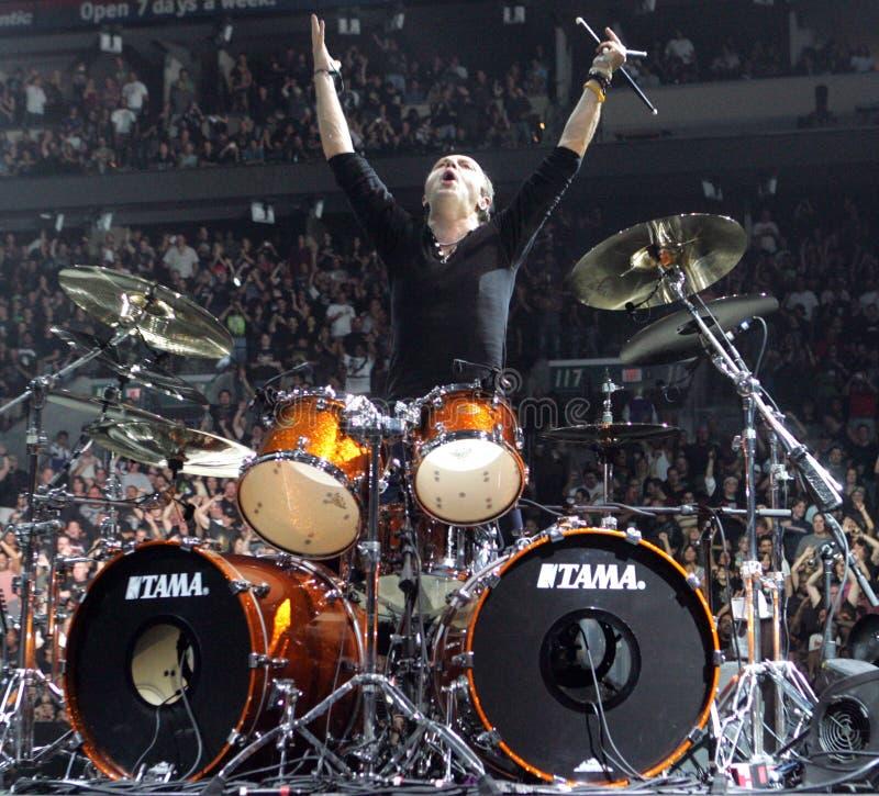 Metallica выполняет в концерте стоковые фото