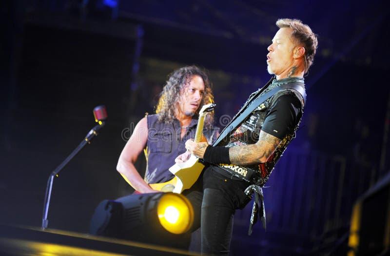 Metallica stockfoto