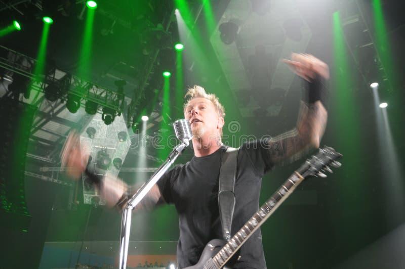 Metallica en tournée photo libre de droits