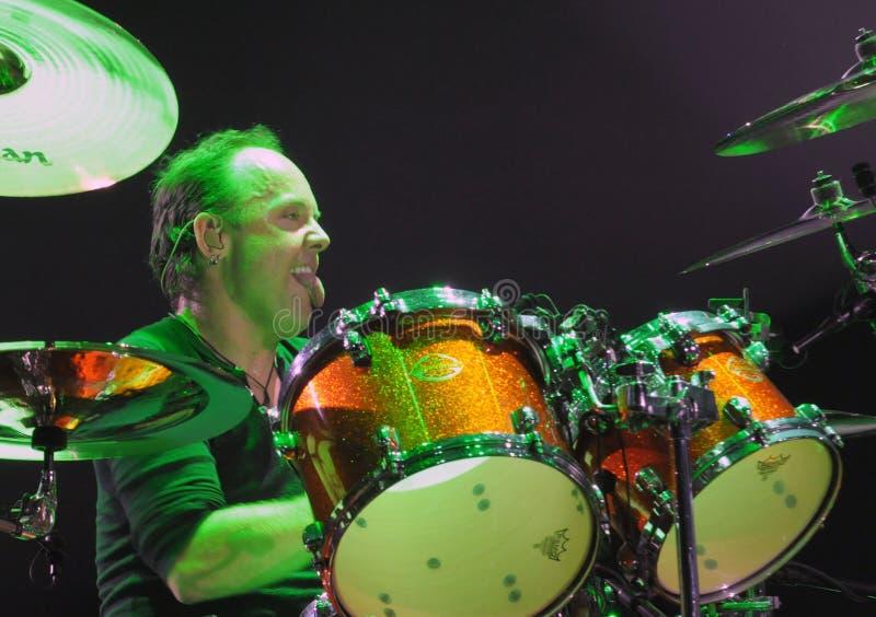 Metallica en tournée images libres de droits