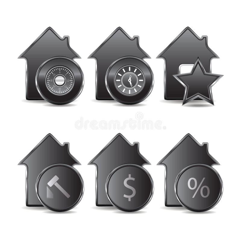 Metallikonen lizenzfreie abbildung