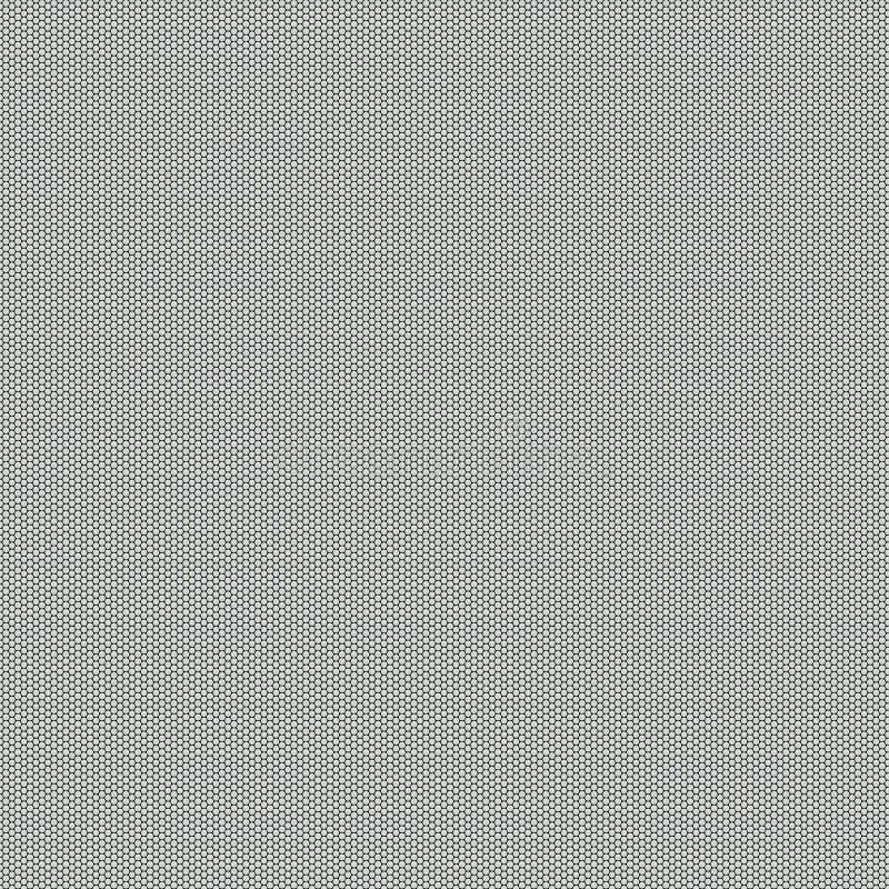 Metallineinander greifen-Grill vektor abbildung