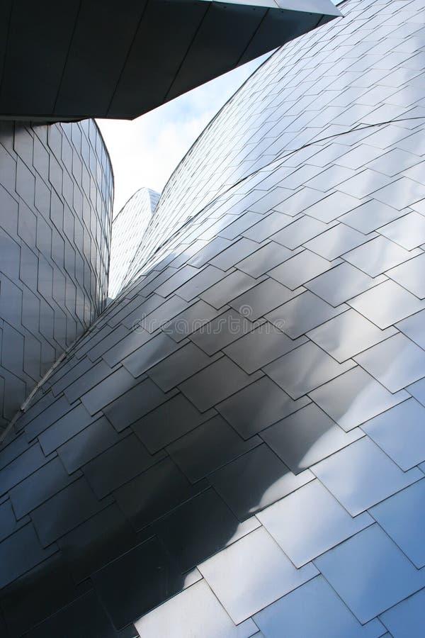 Metallische Architektur lizenzfreies stockfoto