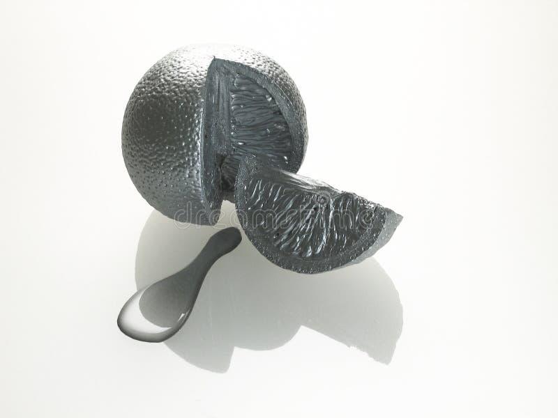 Metallische Früchte vektor abbildung