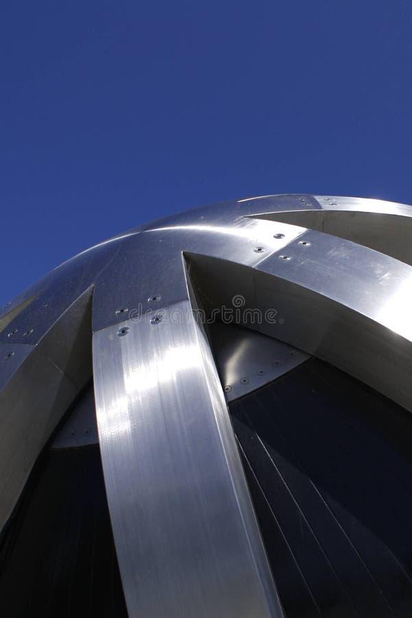 Metallische Kugel lizenzfreie stockfotografie