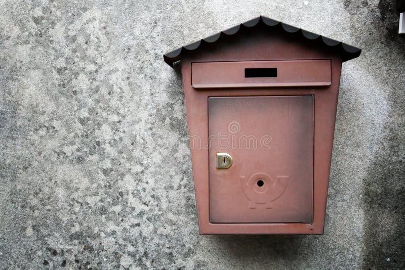 Metallische Mailboxes lizenzfreie stockfotografie
