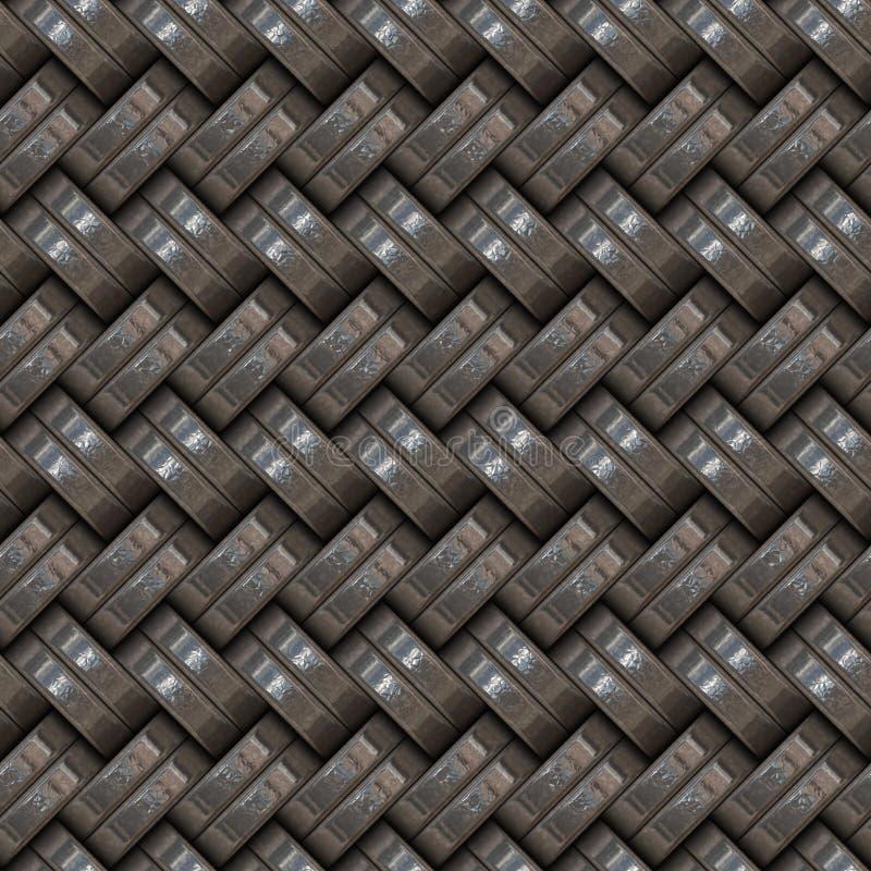 Metallische Webart vektor abbildung