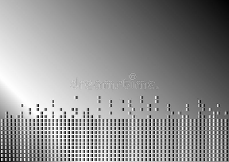 Metallischer Hintergrund stock abbildung