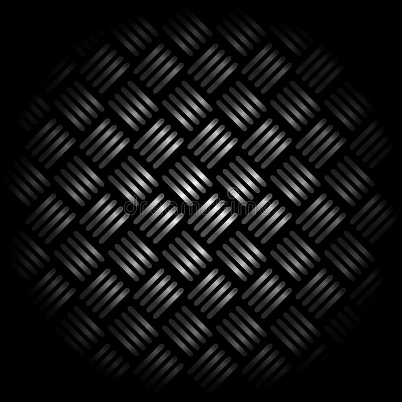 Metallischer Hintergrund lizenzfreie abbildung