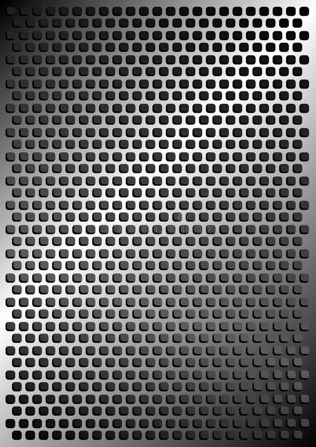 Metallischer Hintergrund vektor abbildung
