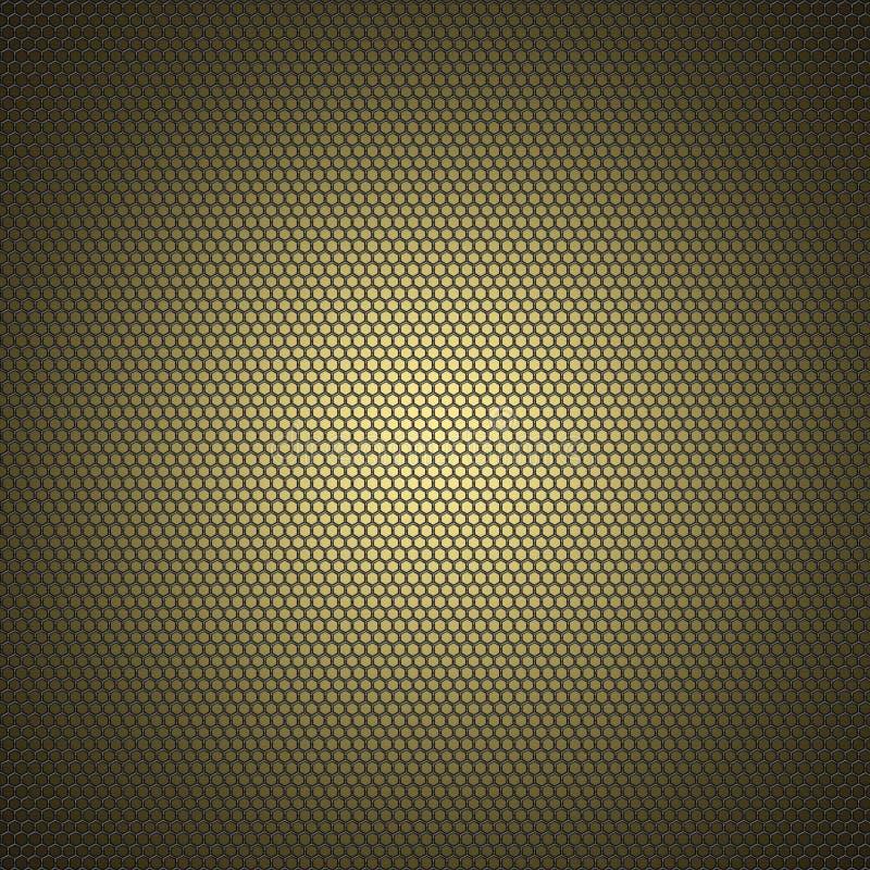 Metallischer Rasterfeldhintergrund vektor abbildung
